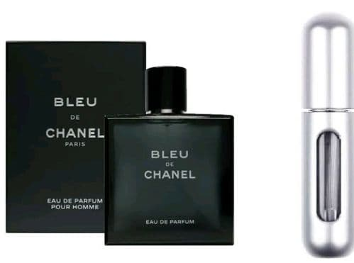 Bleu de Chanel By Chanel Eau de Parfum POUR HOMME Fragrance for Him 5ml EDPSpray