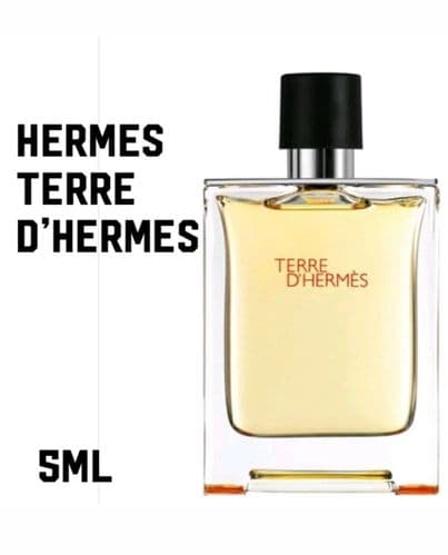 Special Offer HERMES Terre  D'Hermès Eau  De Toilette 5ml Travel Spray FREE P&P