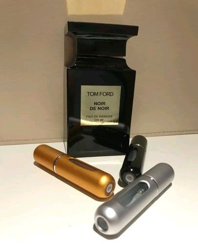 Tom Ford Noir De Noir-100% Genuine EDP-Spray Bottle 5ml