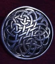 Celtic Eternal Knot Purse Mirror and Pouch