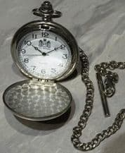 Celtic Pocket Watch on a Chain