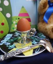 Children's Egg Cup and Spoon by Royal Selangor