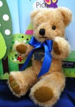 Merrythought 10'' Curly Gold Teddy Bear