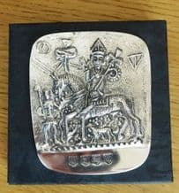 Pewter Replica of Canterbury Pilgrim Token