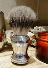 Pure Badger Hair Shaving Brush with Pewter Handle
