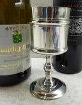 Small  Chatsworth Pewter Goblet '1 Gill'