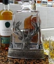 Stag and Thistle Whiskey Decanter