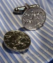 Stags Head Pewter Cuff Links