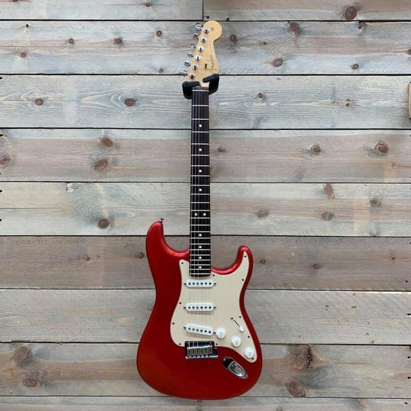 Fender 2003 American Series Stratocaster Chrome Red with Case (Pre-Owned)