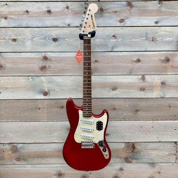 Squier Paranormal Cyclone Candy Apple Red