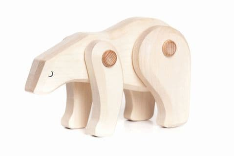 Bajo Polar Bear, Endangered Collection