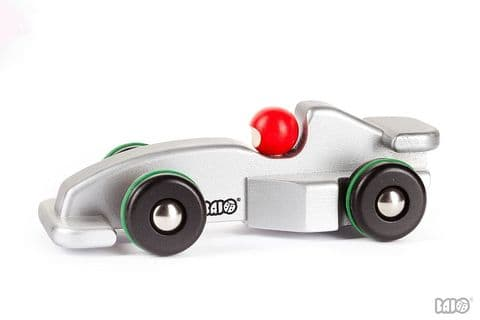 Bajo, Racing Car F, Silver