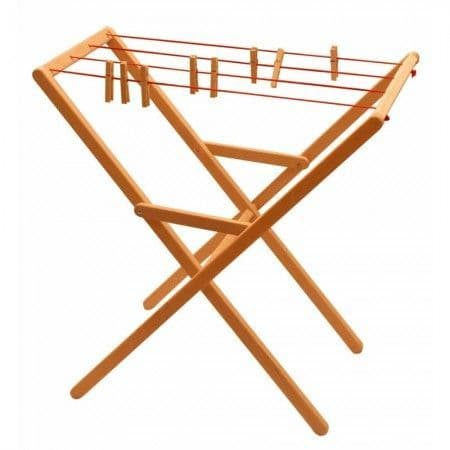 Drewart, Clothes Airer with Pegs