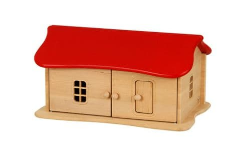 Drewart Small House Red Roof