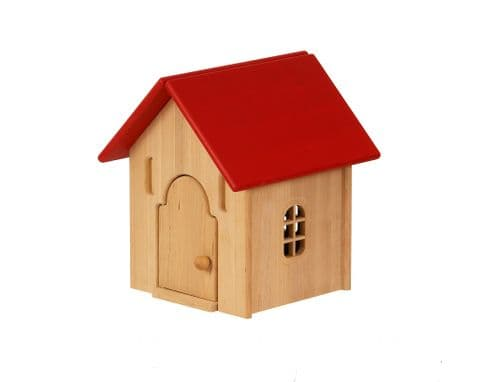 Drewart Tiny House, Red Roof