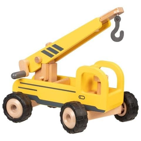Goki, Mobile Crane, Yellow