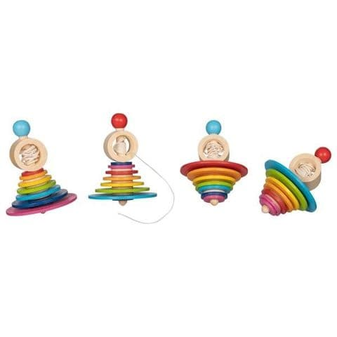 Goki, Spinning Top with pull out string