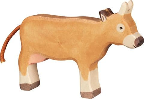 Holztiger Brown Cow, Standing