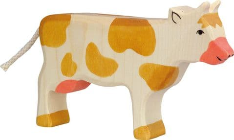 Holztiger Cow Standing, Brown