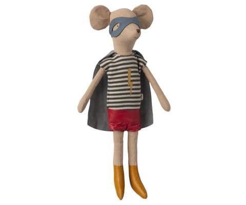 Maileg, Super Hero Mouse, Medium Boy
