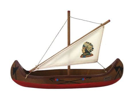 OGAS, Canoe with Sail