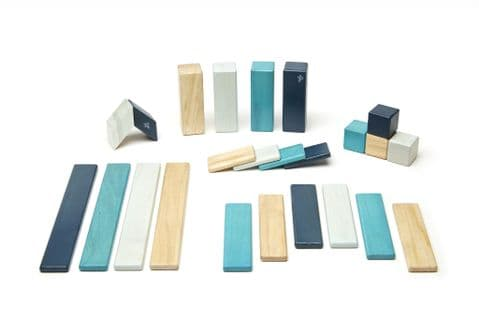 Tegu, 24 piece set,  Blues