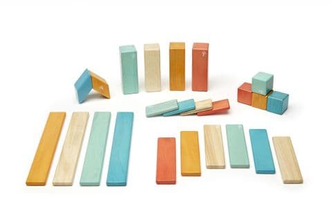 Tegu, 24 piece set,  Sunset