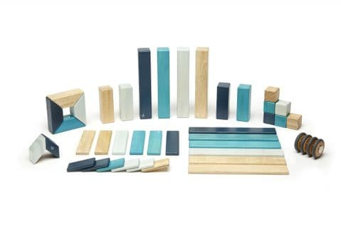 Tegu, 42 piece set, Blues
