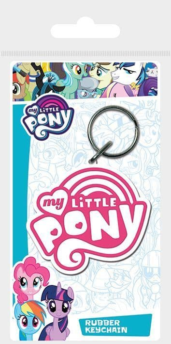 My Little Pony Logo Rubber Keychain