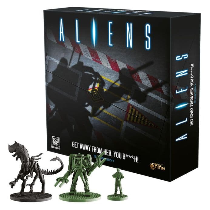 Aliens: Get Away From Her You B***h! Expansion Pack | Buy now at The G33Kery - UK Stock - Fast Delivery