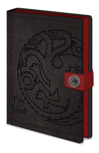 Game of Thrones Targaryen A5 Leather Look Notebook