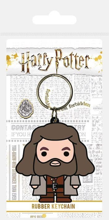 Harry Potter Hagrid Chibi Rubber Keychain