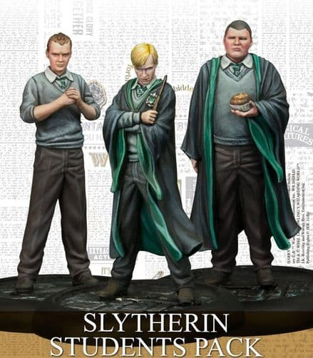 Harry Potter Miniatures Adventure Game  Slytherin Students Expansion Pack