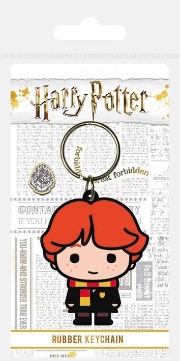 Harry Potter Ron Weasley Chibi Rubber Keychain