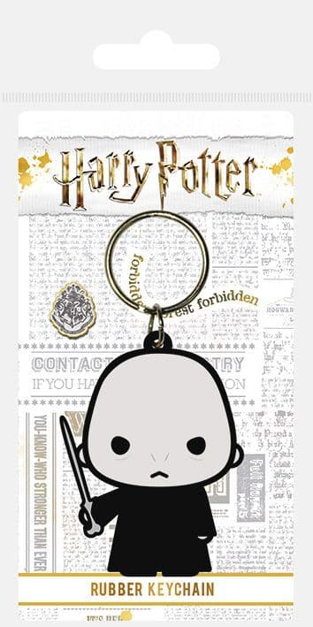 Harry Potter Voldemort Chibi Rubber Keychain