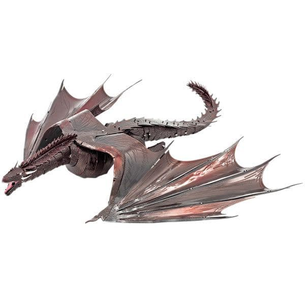 Metal Earth IconX Game of Thrones Drogon Model Kit | Buy now at The G33Kery - UK Stock - Fast Delivery