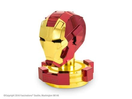 Metal Earth Marvel Iron Man Helmet Model Kit