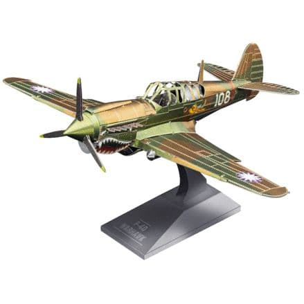 Metal Earth P-40 Warhawk Model Kit