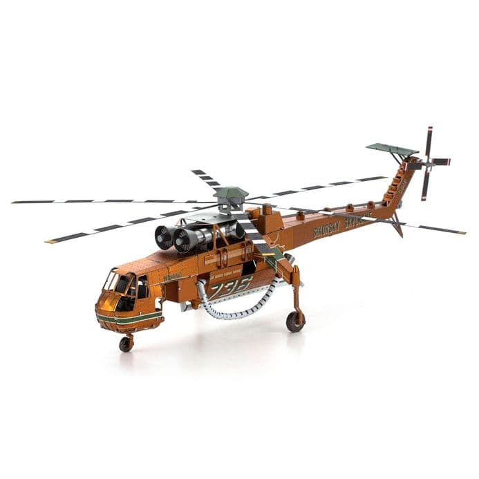 Metal Earth Premium S-64 Skycrane Model Kit | Buy now at The G33Kery - UK Stock - Fast Delivery