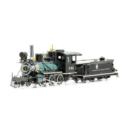 Metal Earth Wild West 2-6-0 Locomotive Model Kit