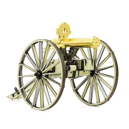 Metal Earth Wild West Gatling Gun Model Kit