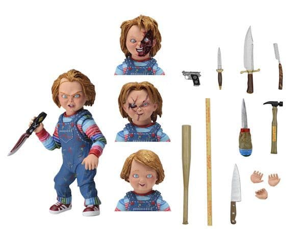 NECA Child's Play Ultimate Chucky Scale Action Figure | Buy now at The G33Kery - UK Stock - Fast Delivery
