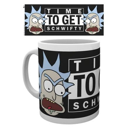 Rick and Morty Mug - Get Schwifty