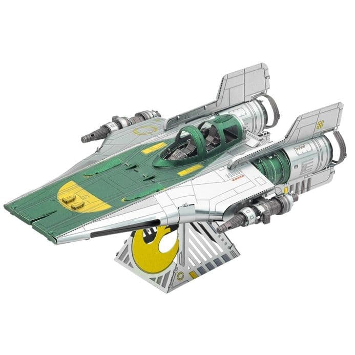 Star Wars Metal Earth Resistance A-Wing Fighter | Buy now at The G33Kery - UK Stock - Fast Delivery