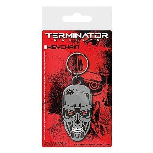 Terminator Genisys Rubber Keychain | Buy now at The G33Kery - UK Stock - Fast Delivery