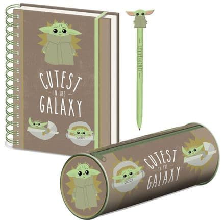 "The Mandalorian ""Cutest in the Galaxy"" The Child Stationery Set"