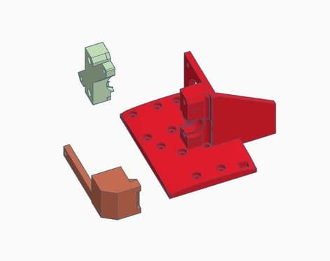 Anet A8 v6 mod kit Plastic parts