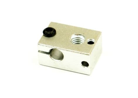 Heater Block for  PT100 cartridge style V6  3D-printer Extruder