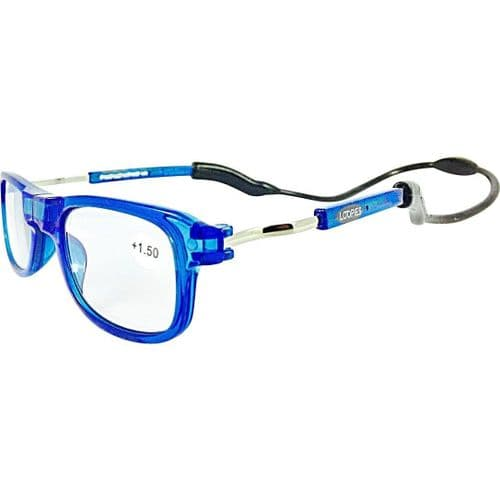 Loopies Sky Blue Photochromic Reading Glasses