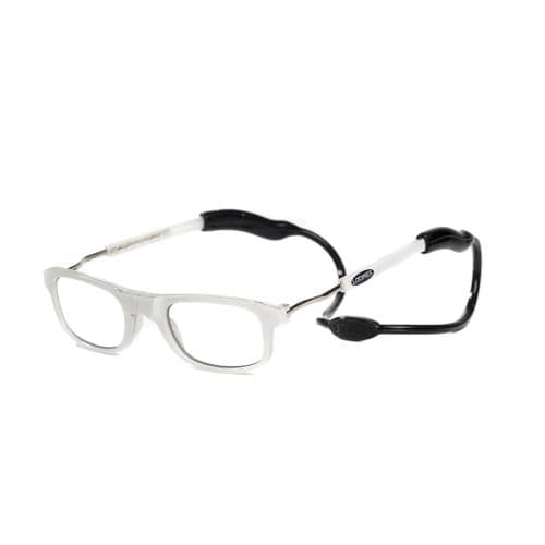 Loopies White Photochromic Magnetic Reading Glasses